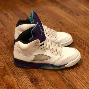 "Jordan Retro 5 ""Grape"" GS"